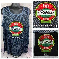 "Fiji Bitter Beer Since 1957 ""The Real Taste Of Fiji"" Mens 3XL Tank Top"