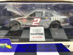 VERY RARE Matco Tools Chrome Edition 1:24 Rusty Wallace #2 Miller Lite 1997 Ford