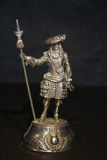 Chas Stadden Royal Marine 1664  -  polished pewter