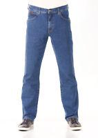 Wrangler Herren Jeans Texas - Regular Fit - Blau - Best Rocks W30-W44 Jeanshose