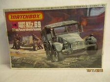 Matchbox Krupp Protz Kfz.69 3.7cm Panzerabwehrkanone Model Kit  1:76   #PK-88