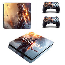 Sony PS4 Slim Console and Controller Skins / Decal -- Battlefield 1 (#0175)