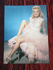 """BETTY GRABLE - FILM STAR - 1 PAGE PICTURE -"""" CLIPPING / CUTTING"""" - #3"""