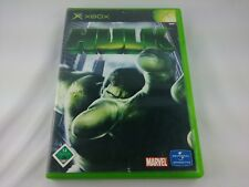 Hulk Microsoft Xbox 2003 DVD Box PAL Spiel Game