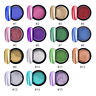 CHROME POWDER Mirror  Nail Art Colours ROSE GOLD Pearl Silver RED