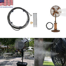 5M Outdoor Misting System Fan Cooler Water Cooling Patio Mist Garden Spray US