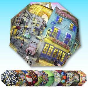 Springbok Eiffel Magic Compact Travel Size Umbrella