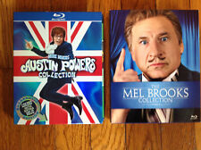 Mel Brooks and Austin Powers Collection Bluray