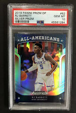 RJ Barret Rookie Card Prizm Draft Picks RC All Americans Silver Refractor