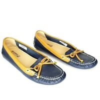 Sperry Top-Sider Womens Katharine Brights Boat Shoes STS91629 Navy Sz 6M EUC