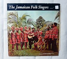 The Jamaican Folk Singers Vol 2/71 LP Jamaican pressing Folk Reggae world