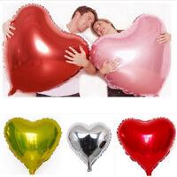 Eg _ Super Grand Forme Coeur Gonflable Ballon Aluminium Film Mariage Fête Décor