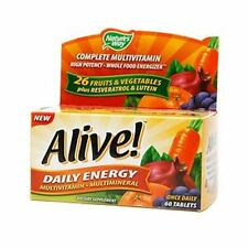 Alive! Daily Energy Multivitamin 60 ea (Pack of 4)
