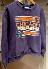 Mitchell & Ness Navy/Orange NFL Chicago bears sweatshirt Size XL