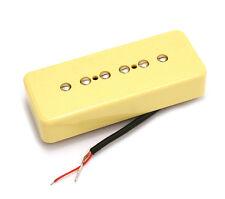 Cream Soapbar P90 Style Bridge Guitar Pickup for Gibson/Epiphone® PU-P9S-BC