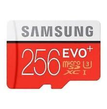 256GB micro SD SDXC Evo Class 10 UHS-I 48MB/s TF Memory Card 256G Galaxy 62#