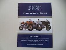 advertising Pubblicità 2001 VOXAN 1000
