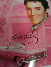 Elvis Presley Pink Cadillac Graceland PLUSH SOFT blanket throw NEW