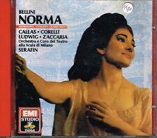 CD album: Bellini: Norma. Callas - Serafin. EMI. C1.