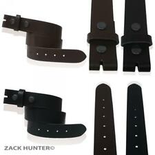 MENS WOMENS REAL LEATHER BELTS SNAP ON DETACHABLE LEATHER BELT MADE IN ENGLAND