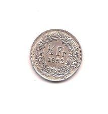 1952 Switzerland Silver 1/2 Franc---Mint Luster!!