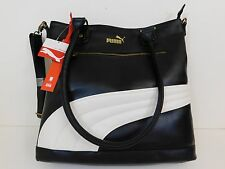 New Puma Foundation Black Tote Women's Handbag