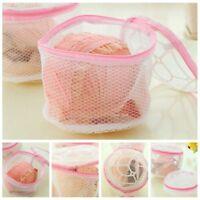 Wash Helpful Lingerie Bra Sock Laundry Washing Aid Net Mesh Zip Bag Filter Handy