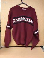 Vintage mens Arizona Cardinals Pro-Line Sweater. Size LARGE