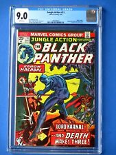Jungle Action #11- Featuring Black Panther - CGC 9.0 - 2nd App. of Baron Macabre