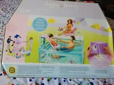 Barbie Happy Family Splash N Slide Playset