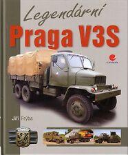 Book - Legendarni Praga V3S - Czech Military Truck & Versions - 1950s to 1980s