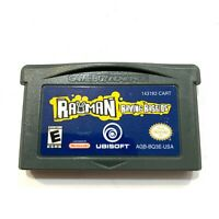 Rayman Raving Rabbids - Game Boy Advance GBA Game - Tested - Working - Authentic