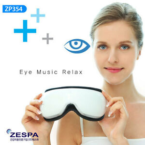 ZESPA ZP354 Wireless Rechargeable Air Compression Eye Massager Vibration Music