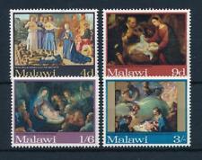 REPUBLIC OF MALAWI -1968- Christmas 1968 - MNH Set/4 Stamps- Sc.#91-94