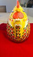 Dario Farrucci Rooster Cookie Jar