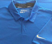 Nike Golf Dri Fit Tour Performance Polo Shirt Mesh Mens Small (E288-B9)