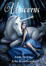 UNICORNS By Anne Stokes and John Woodward Paperback Book Illustrated