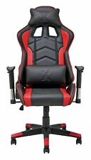 X-Rocker Height Adjustable Alpha Office Gaming Chair - Black/Red - See Buy Now