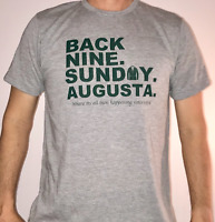 "JEL GOLF Fashion Shirt ""BACK 9 SUNDAY"" Masters Edition"