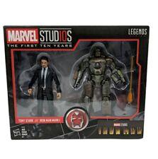Marvel Legends Series Marvel Studios First 10 Yrs Tony Stark Iron Man Mark1 Read