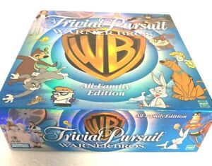 Trivial Pursuit Warner Bros All-Family Edition Hasbro 1999 - BRAND NEW SEALED