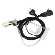 2-Pin Air Tube Earpiece Headset Mic for ICOM IC-V8 IC-V82 IC-V85 IC-A4 IC-A5 New