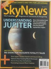 Sky News May June 2017 Understanding Jupiter Juno Spacecraft FREE SHIPPING sb