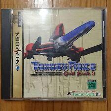 THUNDER FORCE GOLD PACK 2 Sega Saturn good