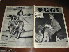 RIVISTA OGGI 1956/9=KIM NOVAK=MARISA PAVAN=RUBINSTEIN ELENA=CHI UCCISE MUSSOLINI