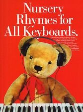 Nursery Rhymes For Keyboards Learn to Play Kids PIANO Guitar PVG Music Book Song