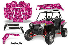 AMR Racing Polaris RZR 900XP Sticker Graphic Kit Decal UTV Parts 11-14 BUTTERFLY