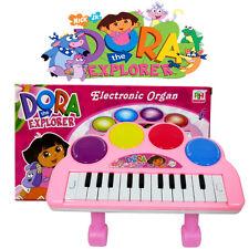 DISNEY DORA THE EXPLORER KIDS ELECTRONIC PIANO LED ORGAN EDUCATIONAL MUSICAL TOY