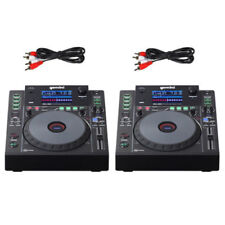 2 x Gemini MDJ-900 USB MP3 Media Player Midi Software Controller 24bit Soundcard
