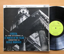 OL 50214 A Recital By The Academy of St Martin-In-The-Fields 1961 L'Oiseau-Lyre